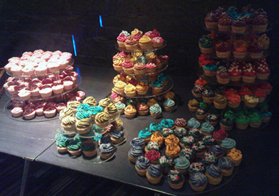 web awards cupcakes